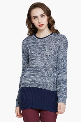 RARE Womens Round Neck Printed Sweater - 203399842