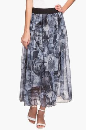 FRATINI WOMAN Womens Printed Long Skirt