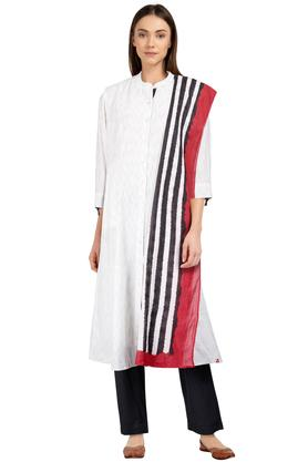 087199f0bf X BIBA Womens Mandarin Collar Printed Pants Suit