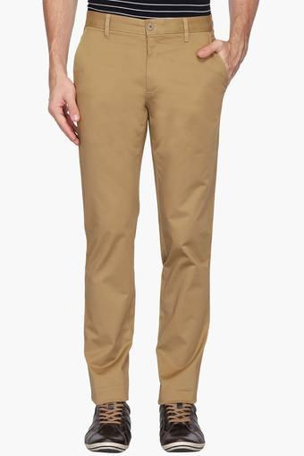 LOUIS PHILIPPE SPORTS -  PurpleCasual Trousers - Main