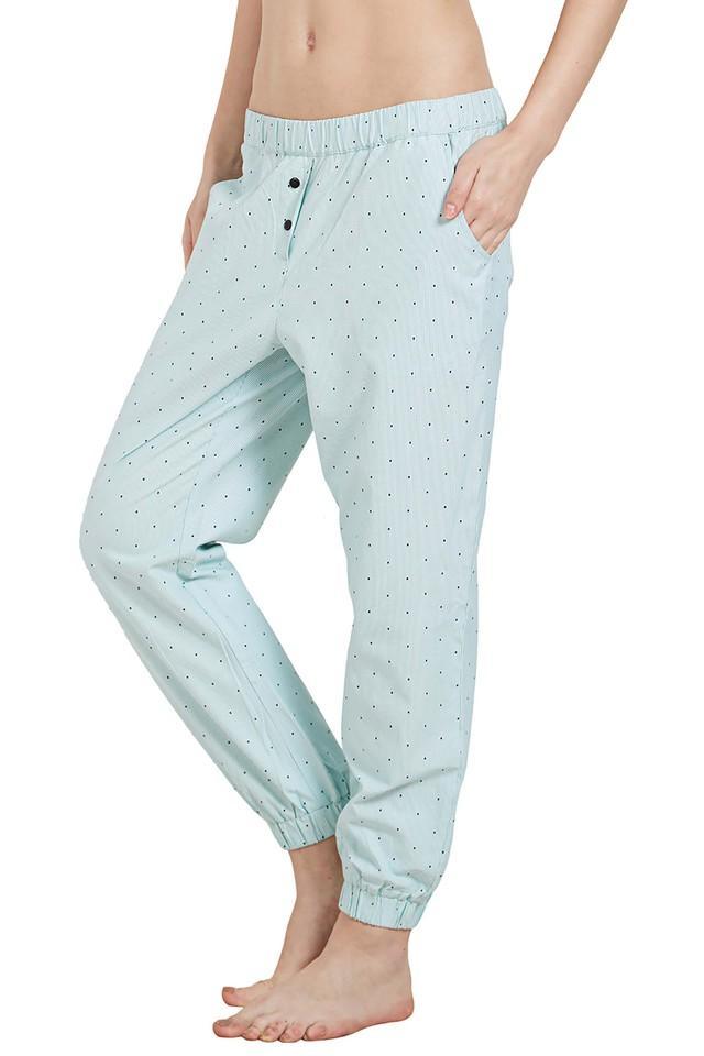 Womens Dot Pattern Lounge Pants