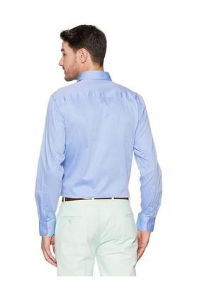 Mens Regular Fit Collar Slub Shirt