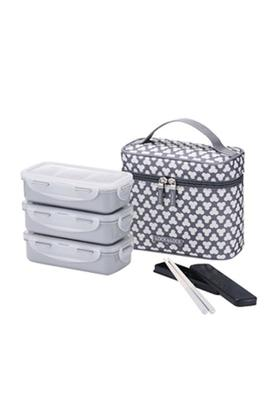 LOCK & LOCK Lunch Box Set With Printed Bag