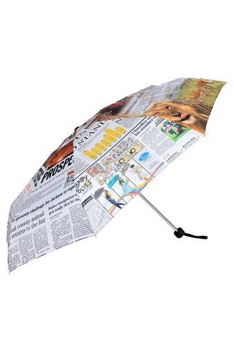 Womens 5 Fold Manual Atom Case Umbrella