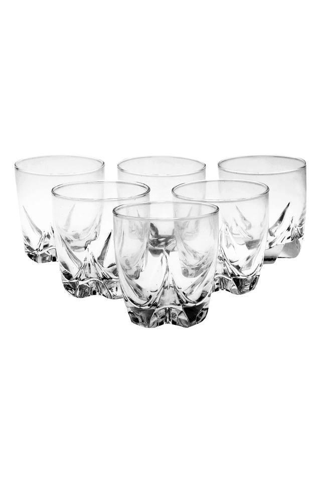Crystal Rock Glass Set of 6