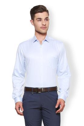 Mens Regular Fit Slim Collar Printed Shirt