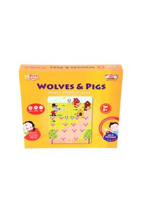Diy Wolves & Pigs Based On Goats & Tigers Game