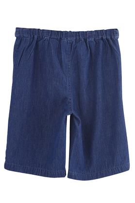 Girls 2 Pocket Washed Culottes