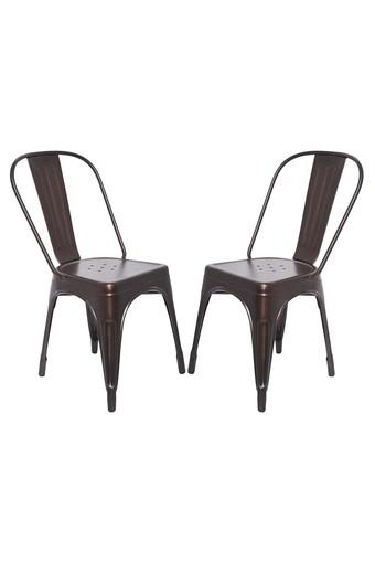 Copper Stylo Chairs Set of 2
