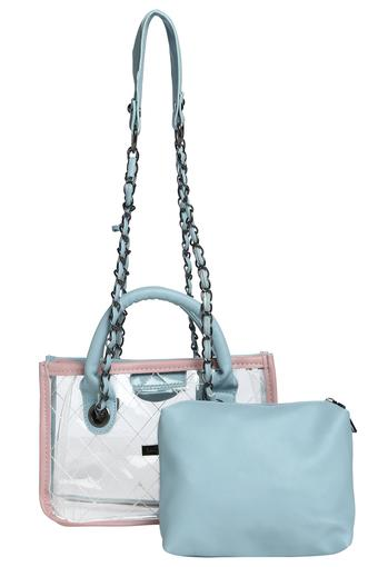 HAUTE CURRY -  Blue Handbags - Main