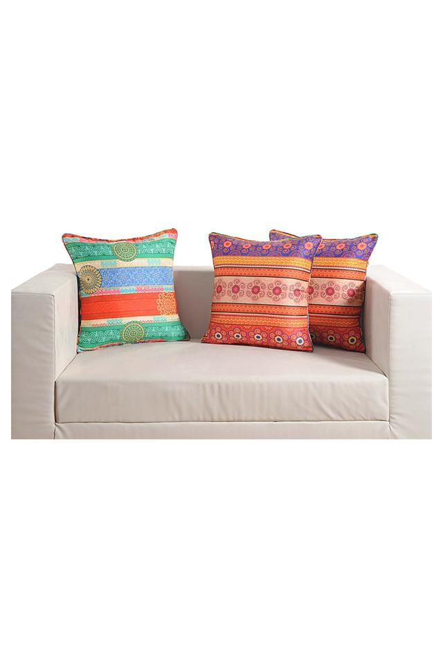 Ethnic Printed Cushion Cover Set Of 5