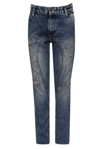 Boys 4 Pocket Distressed Jeans