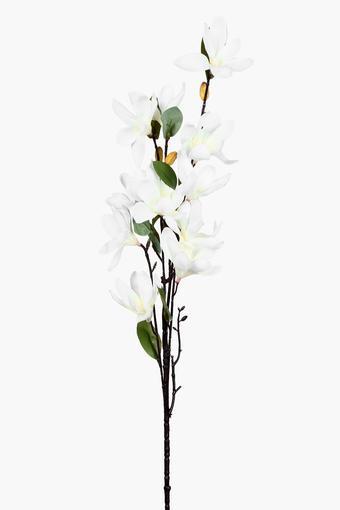 Magnolia White Artificial Flower Stem