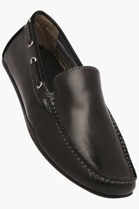 VENTURINI Mens Leather Slipon Loafers - 203017974