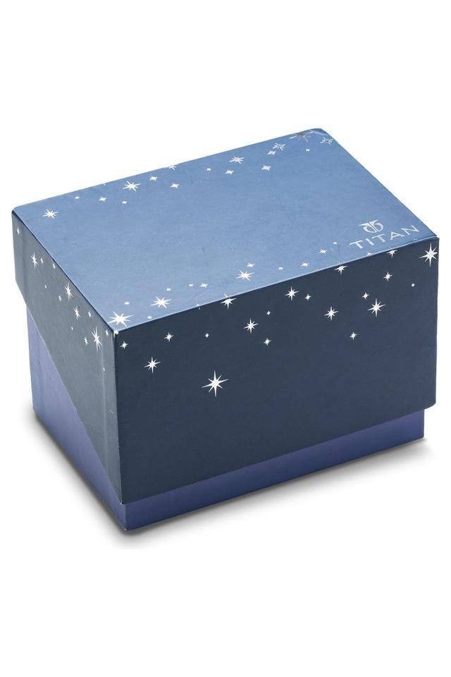 Womens Stellar Blue Dial Mesh Analogue Watch - NK95083WM02