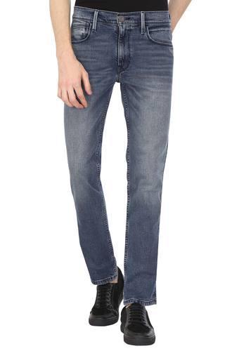 Mens 4 Pocket Whiskered Effect Jeans (511)