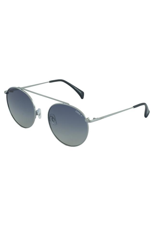 Unisex Round Gradient Polarized Sunglasses - 2344C3PSG