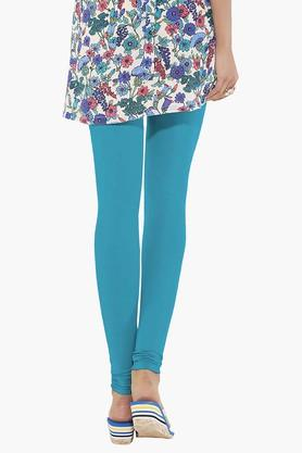 Womens Stretch Mid Rise Skinny Fit Churidar