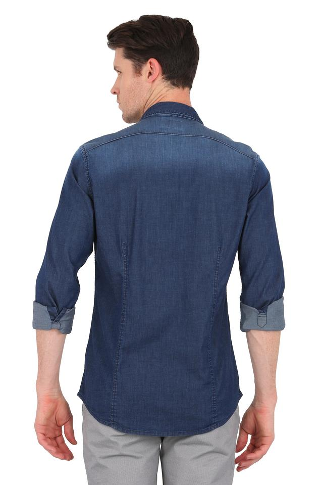 Mens Slim Collar Assorted Shirt