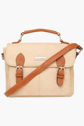 ELLIZA DONATEINWomens Casual Wear Closure Sling Bag