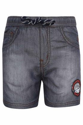 Boys 5 Pocket Washed Shorts