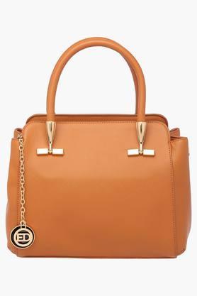 ELLIZA DONATEINWomens Zipper Closure Satchel Handbag - 202722208