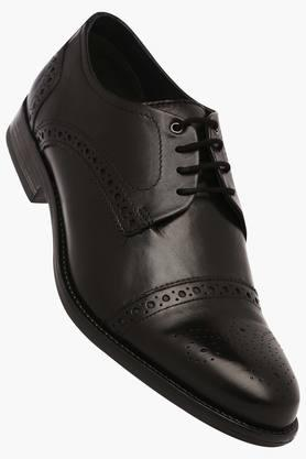 VENTURINI Mens Leather Lace Up Derbys - 203017964_9212
