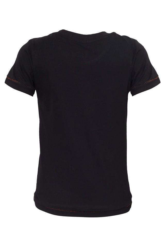 Boys Round Neck Cartoon T-Shirts