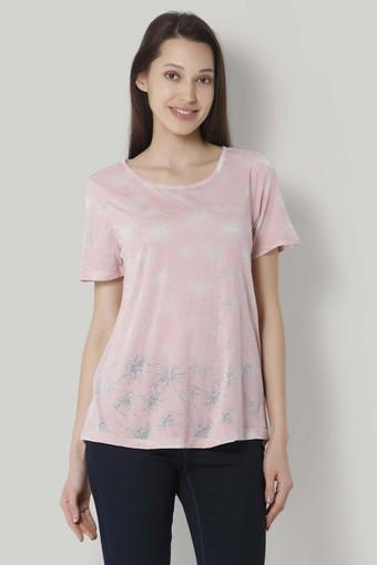 limited guantity cozy fresh outlet on sale Buy VERO MODA Womens Round Neck Printed T-Shirt   Shoppers Stop