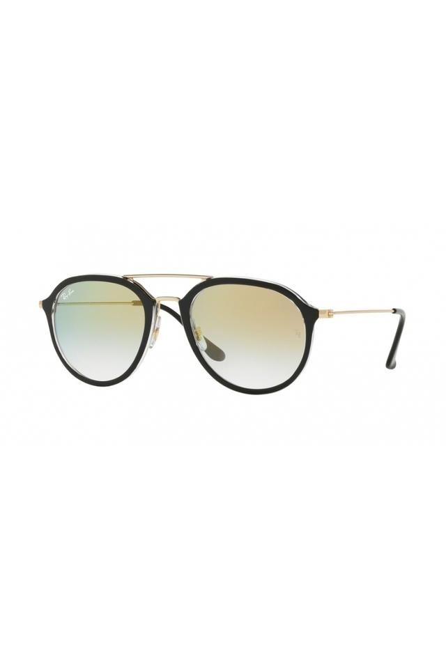 Unisex Aviator Gradient Sunglasses
