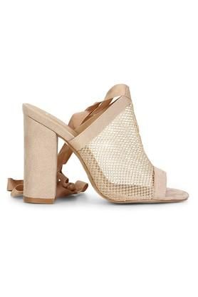 Womens Party Wear Tie Up Closure Heels