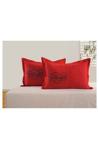 SWAYAM -  Red Pillow & Cushion Covers - Main