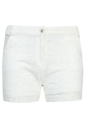 Girls 2 Pocket Lace Shorts