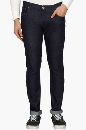 LEE Mens Skinny Fit Rinse Wash Jeans (Lowbruce Fit)