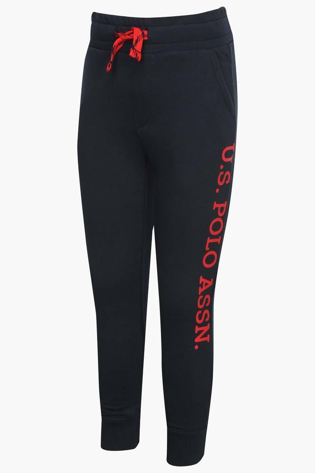Boys 2 Pocket Solid Track Pants