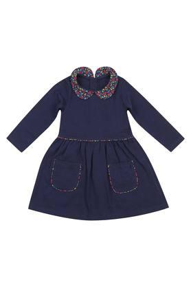 Girls Printed Casual A-Line Dress