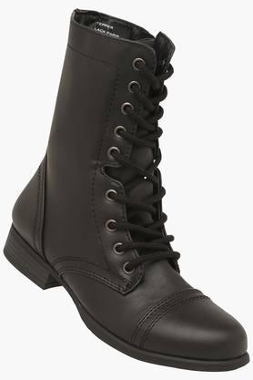 STEVE MADDENWomens Casual Wear Lace Up Boots - 203024861