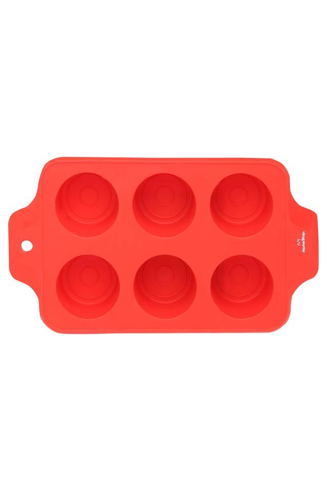 Solid Silicone Mould Muffin Baking Tray