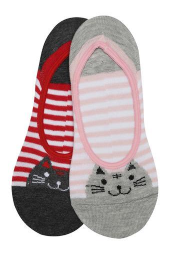 Womens Printed Socks - Pack of 2