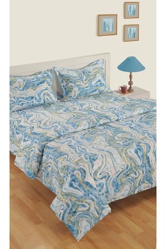 Cotton Abstract Printed Single AC Comforter
