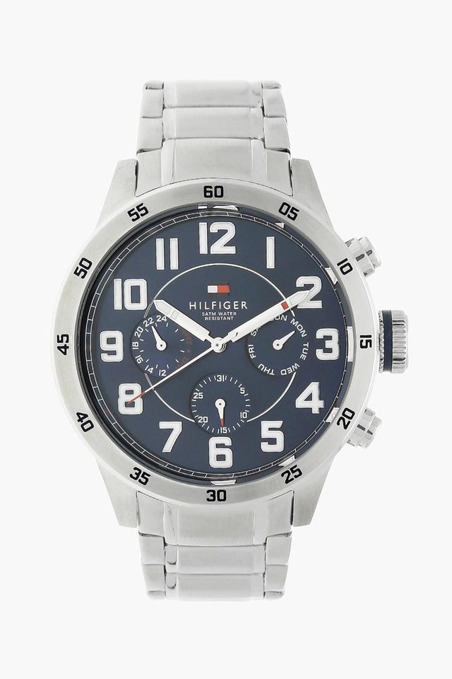 Mens Chronograph Metallic Watch - NATH1791053