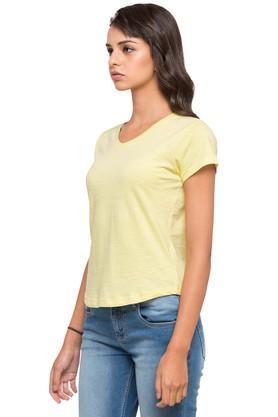 Womens V-Neck Slub T-Shirt