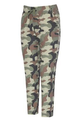 Boys 4 Pocket Camouflage Joggers