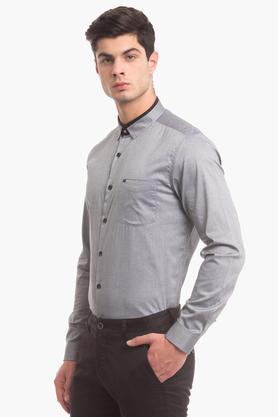 Mens Slim Fit Formal Shirt