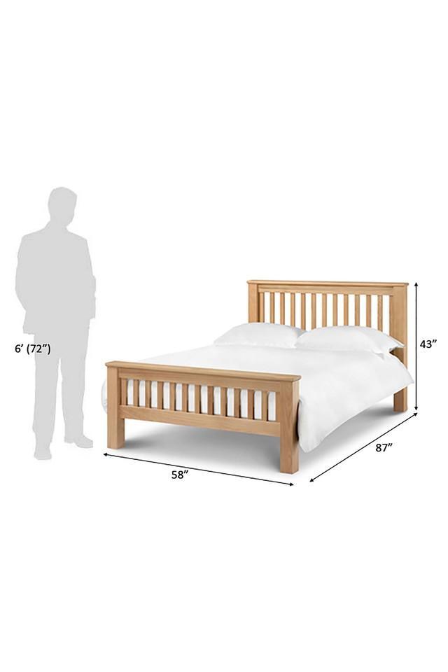 Natural Maxvon King Bed