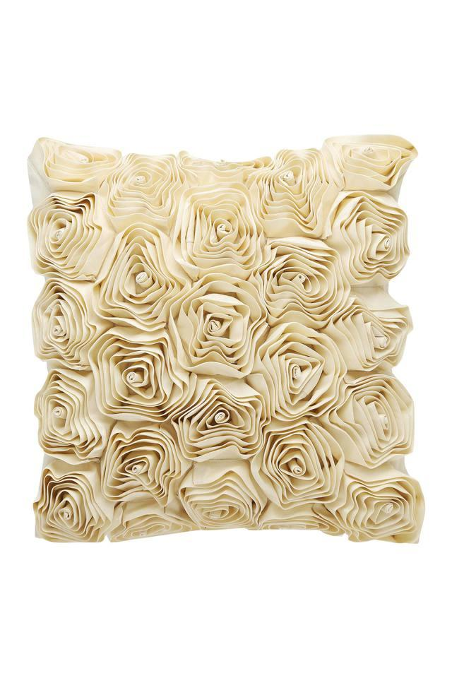 Square Solid Corsage Cushion Cover