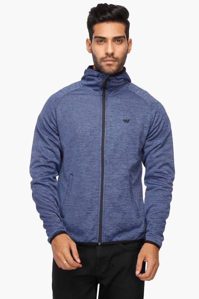 Mens Hooded Printed Jacket