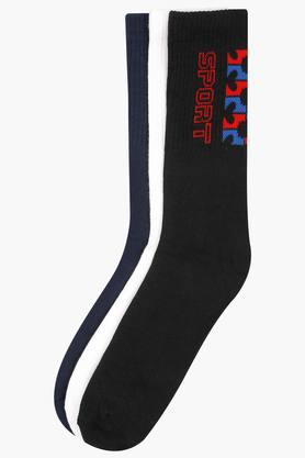 LIFE Mens Solid Socks Pack Of 3