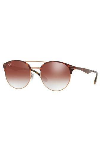 Unisex Clubmaster UV Protected Sunglasses