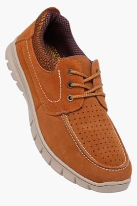 VENTURINIMens Suede Lace Up Casual Shoes - 203018034
